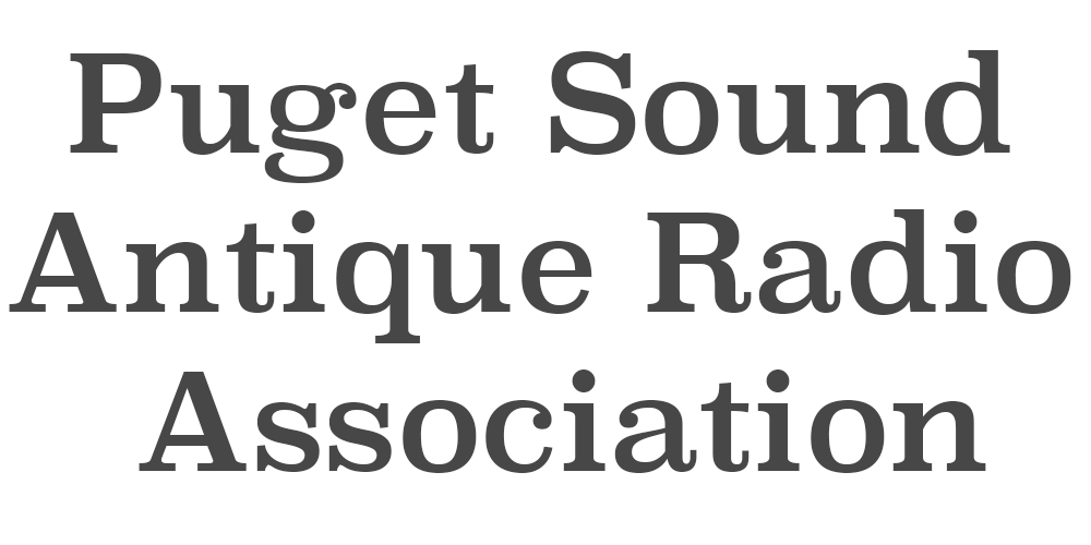 Puget Sound Antique Radio Association